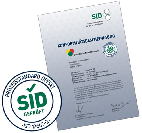SID - PSO - Official seal and certificate - image